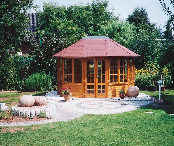 gartenlaube grilllaube und pavillon aus holz geschlossen sunrise 10eck 2 kaufen. Black Bedroom Furniture Sets. Home Design Ideas