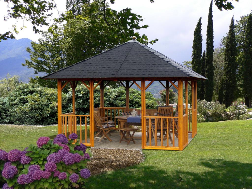 gartenlaube grilllaube und pavillon aus holz offen sunlight 4eck 1 kaufen. Black Bedroom Furniture Sets. Home Design Ideas