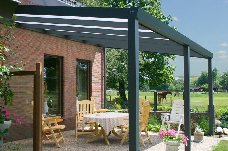 terrassendach aluminium ueberdachung polycarbonat 2 m tief kaufen. Black Bedroom Furniture Sets. Home Design Ideas