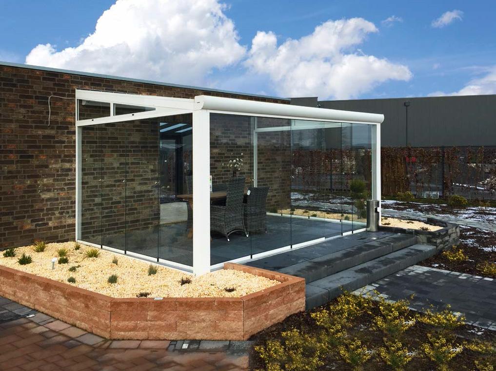 winterg rten aluminium polycarbonat 4 m tief kaufen. Black Bedroom Furniture Sets. Home Design Ideas