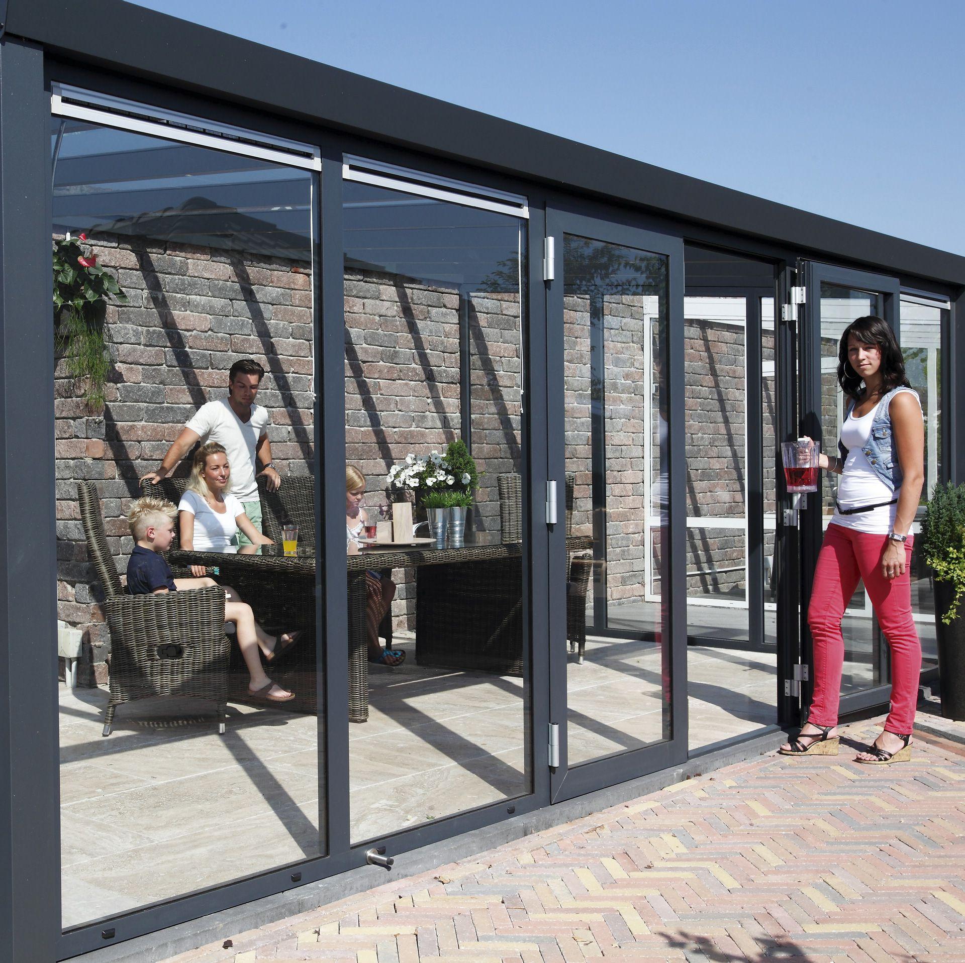 wintergarten aluminium sicherheitsglas 4 m tief kaufen. Black Bedroom Furniture Sets. Home Design Ideas