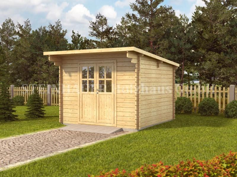 gartenhaus und ger tehaus flachdach pultdach stabilo kaufen. Black Bedroom Furniture Sets. Home Design Ideas