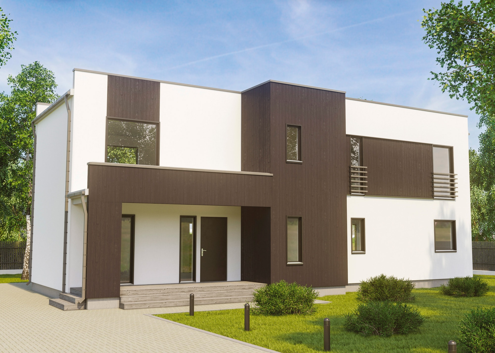 Fertighaus und bausatzhaus 453 madison classic kaufen for Bausatzhaus holz