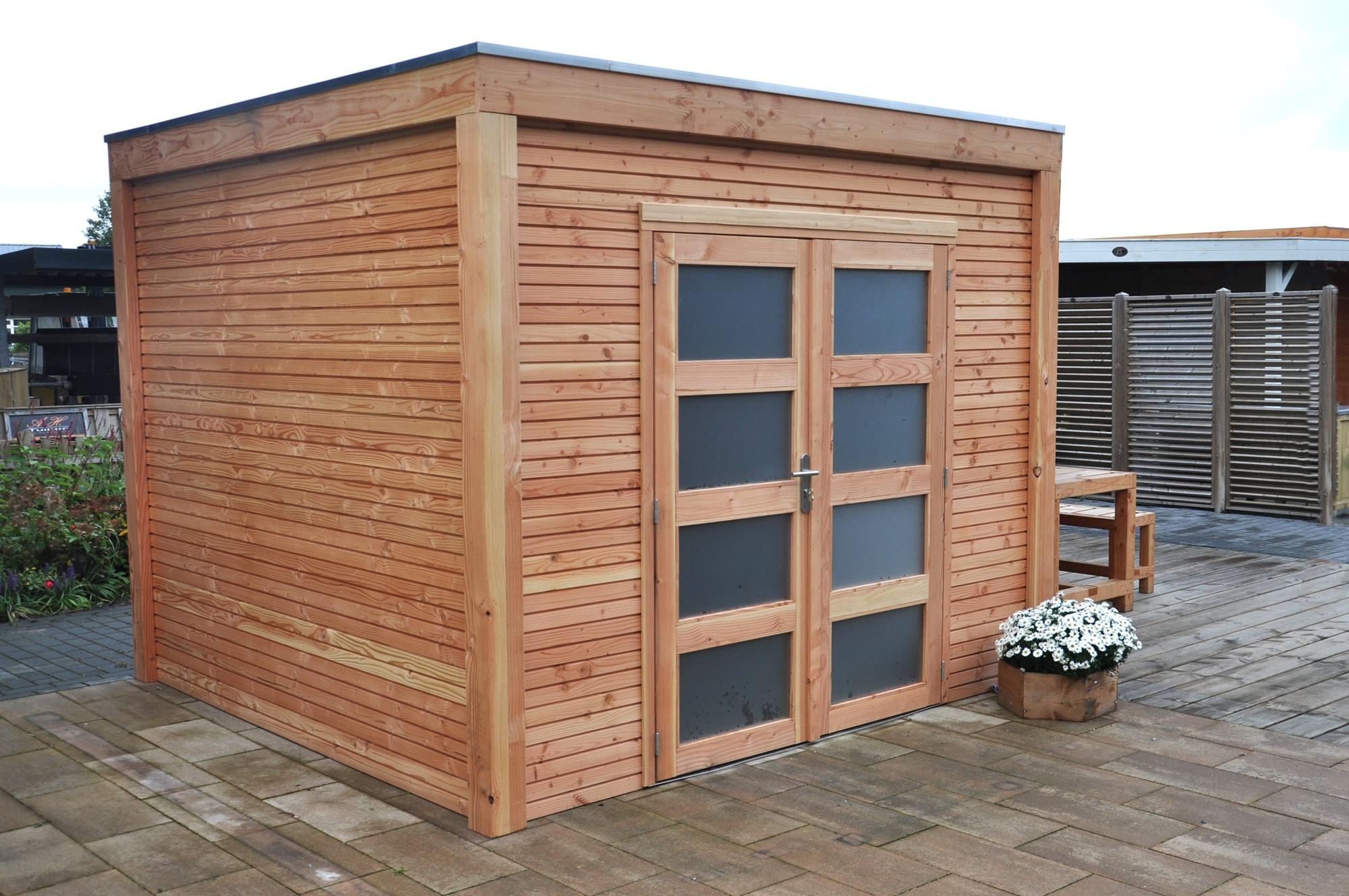 Gartenhaus und ger tehaus flachdach pultdach dakota 1 kaufen - Gartenhaus aus aluminium ...