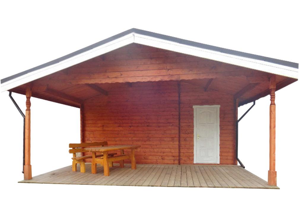 carports und garagen aus blockbohlen l rche kaufen. Black Bedroom Furniture Sets. Home Design Ideas