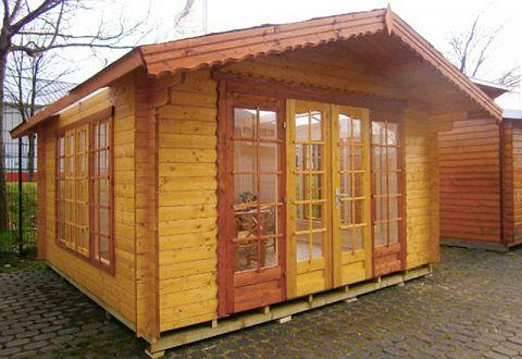 Wintergarten-Gartenhaus mit Lichtdach