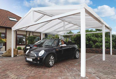 Carport aus Aluminium & Aluminium-Carport Bausatz kaufen