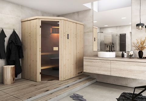 finnische sauna kaufen biosauna blockhaussauna kaufen. Black Bedroom Furniture Sets. Home Design Ideas