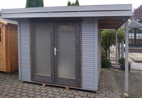 Gartenhaus Holz Pultdach SE55 – Hitoiro
