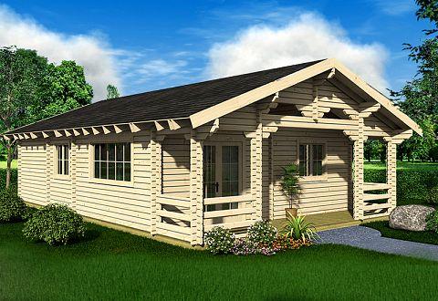Strandhaus karibik holz  Ferienhaus aus Holz bauen, Ferienhaus-Bausatz kaufen, Wochenendhaus