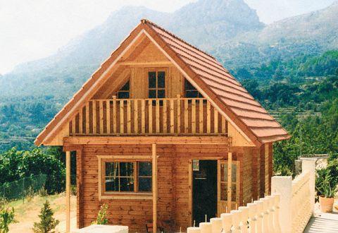 ferienhaus aus holz bauen ferienhaus bausatz kaufen wochenendhaus. Black Bedroom Furniture Sets. Home Design Ideas
