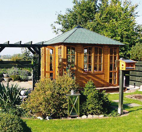 gartenlaube grilllaube und pavillon aus holz exclusiv flamenco 4eck 1 kaufen. Black Bedroom Furniture Sets. Home Design Ideas