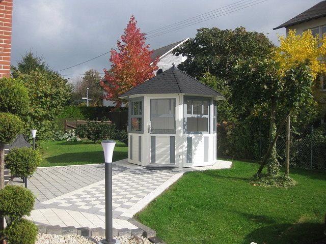 gartenlaube grilllaube und pavillon aus holz geschlossen light wonder 8eck kaufen. Black Bedroom Furniture Sets. Home Design Ideas
