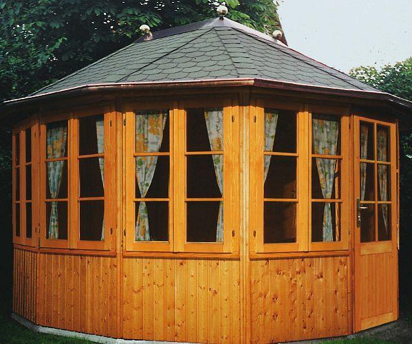 gartenlaube grilllaube und pavillon aus holz geschlossen gartenoase 12eck kaufen. Black Bedroom Furniture Sets. Home Design Ideas