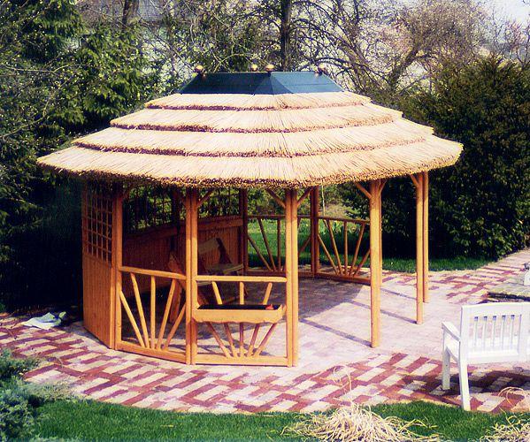 gartenlaube grilllaube und pavillon aus holz offen sunlight 12eck kaufen. Black Bedroom Furniture Sets. Home Design Ideas
