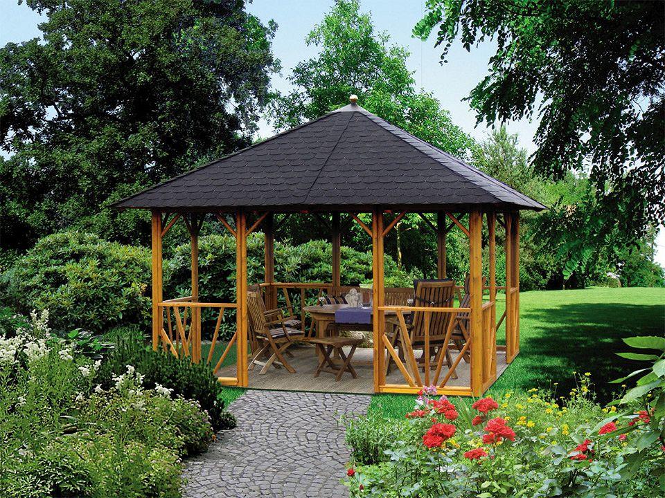 gartenlaube grilllaube und pavillon aus holz offen sunlight 4eck 2 kaufen. Black Bedroom Furniture Sets. Home Design Ideas