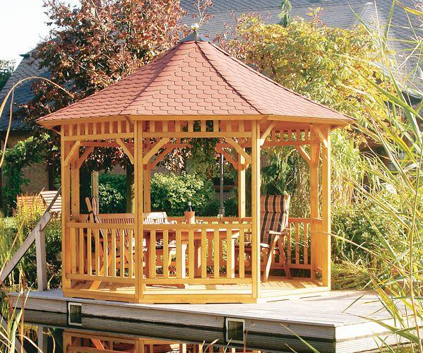 gartenlaube grilllaube und pavillon aus holz offen fiesta 8eck 2 kaufen. Black Bedroom Furniture Sets. Home Design Ideas