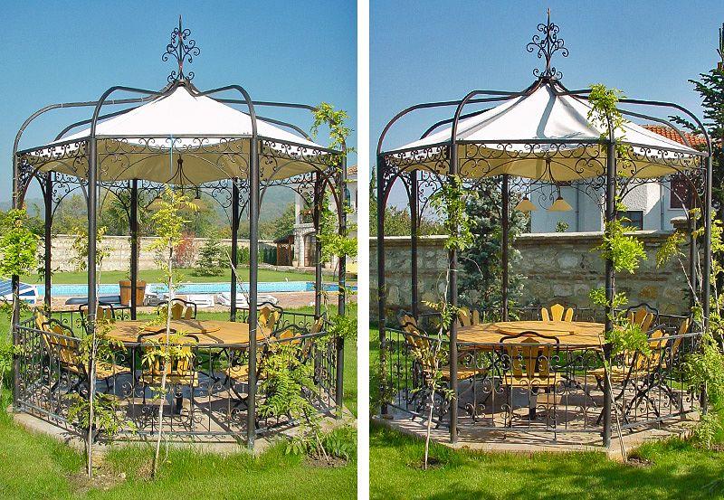 gartenlaube grilllaube und pavillon aus metall 34001 kaufen. Black Bedroom Furniture Sets. Home Design Ideas