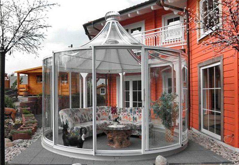 gartenpavillon holz geschlossen holz pavillon 8 eck gartenpavillon 4m im landhausstil. Black Bedroom Furniture Sets. Home Design Ideas