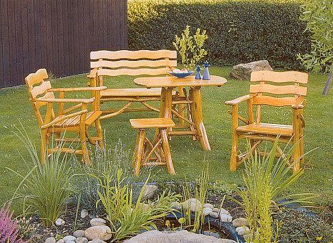 gartenm bel und zubeh r kn ppelholz donau sitzgarnitur kaufen. Black Bedroom Furniture Sets. Home Design Ideas
