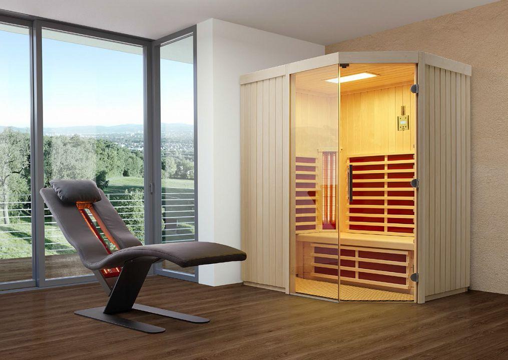 sauna und infrarotkabine trio sol unica 1 kaufen. Black Bedroom Furniture Sets. Home Design Ideas