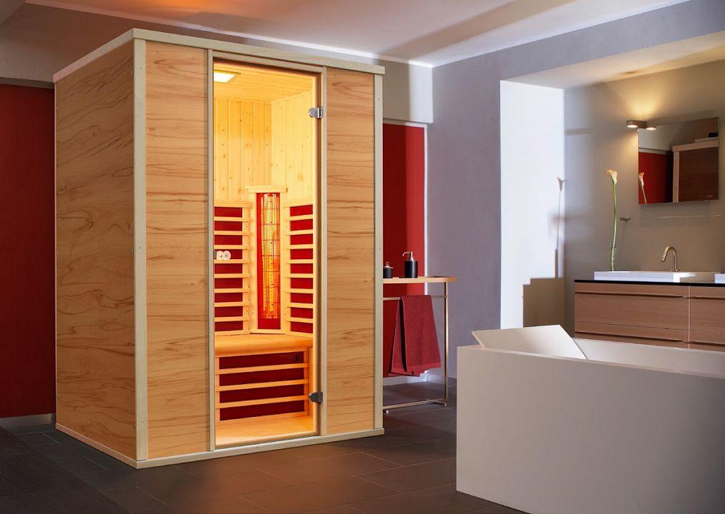sauna und infrarotkabine vario 125 kaufen. Black Bedroom Furniture Sets. Home Design Ideas
