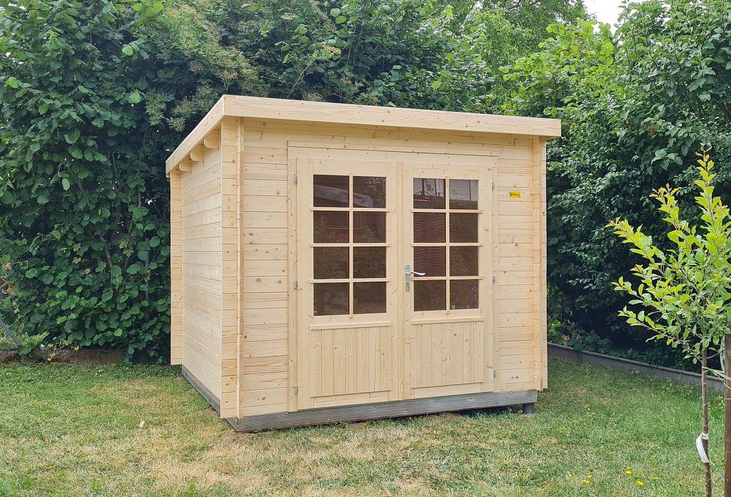 gartenhaus und ger tehaus flachdach pultdach zweckhaus 1 kaufen. Black Bedroom Furniture Sets. Home Design Ideas