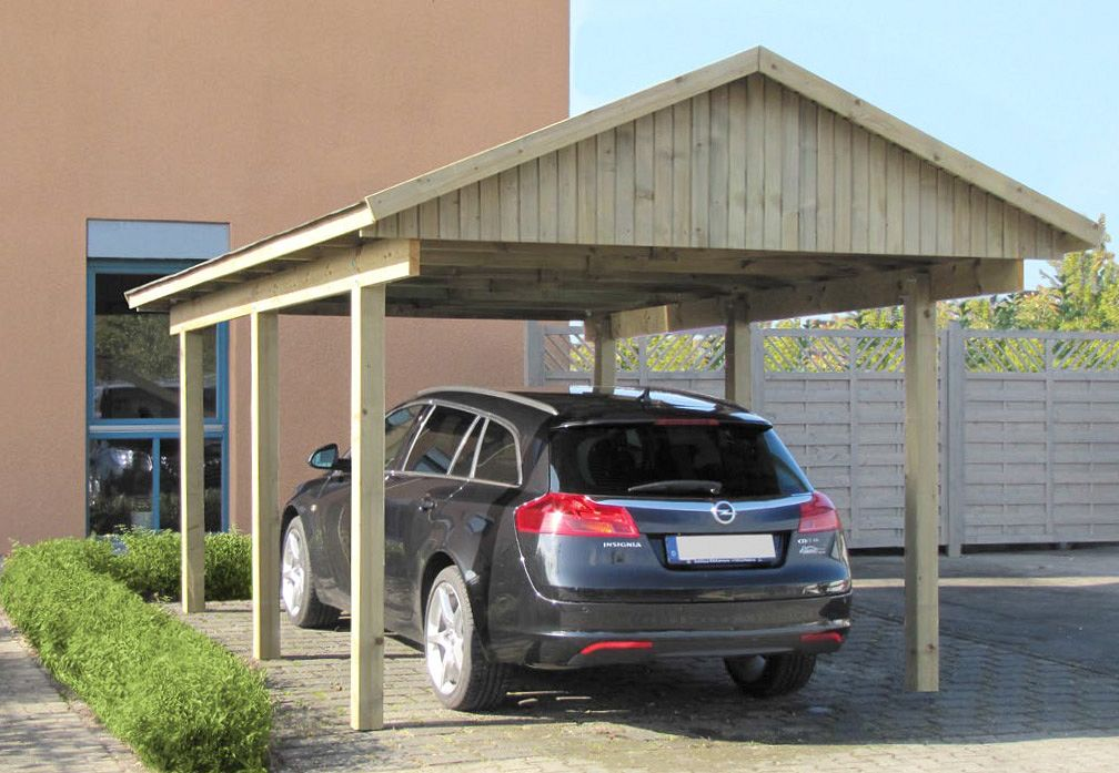 carport und garage aus holz juist 1 kaufen. Black Bedroom Furniture Sets. Home Design Ideas