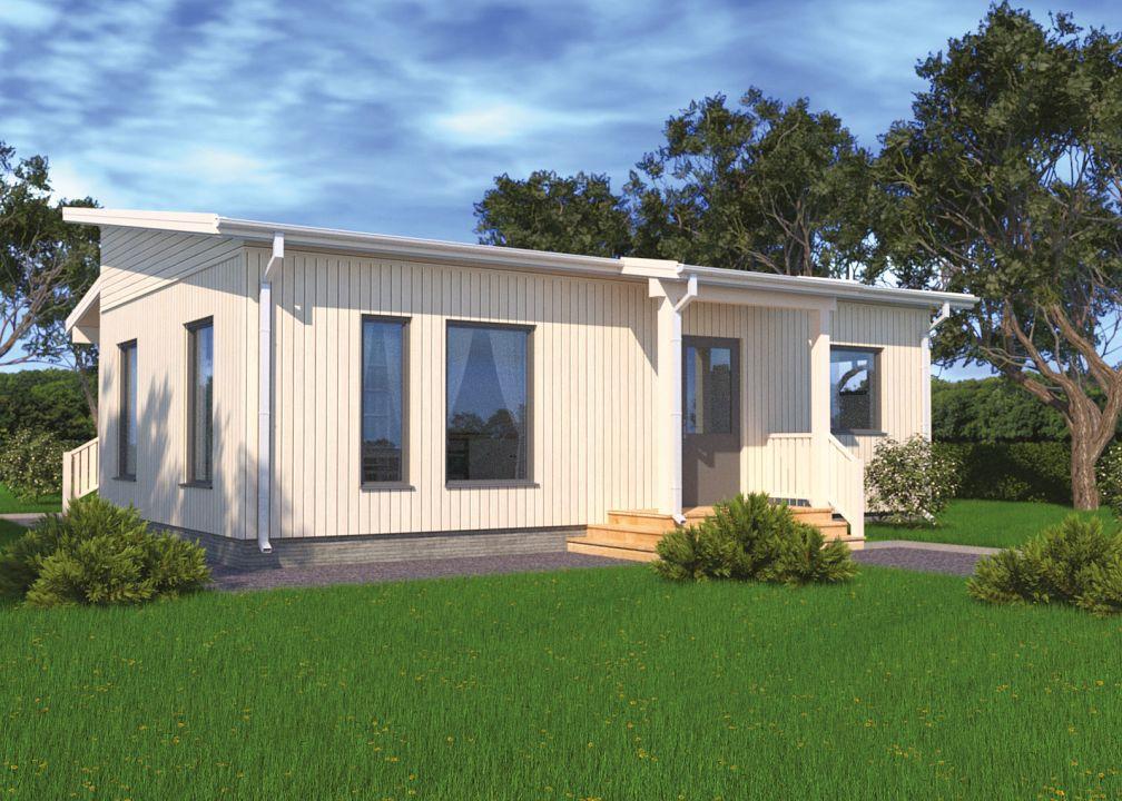 Fertighaus und bausatzhaus 448 dave classic kaufen for Wochenendhaus modern