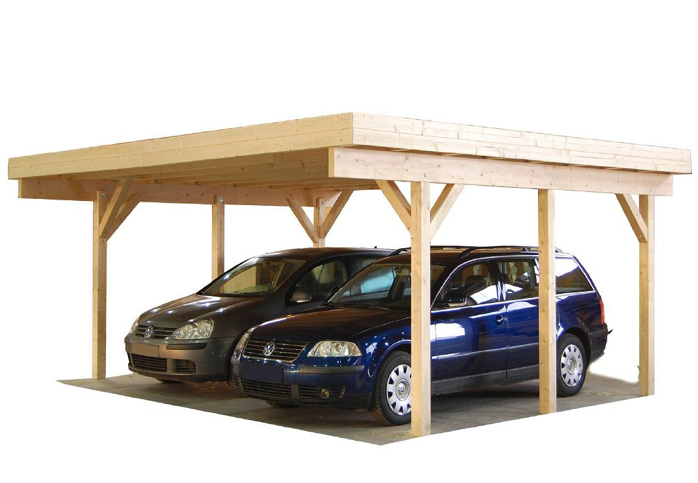 carport und garage aus holz magnum 2 kaufen. Black Bedroom Furniture Sets. Home Design Ideas