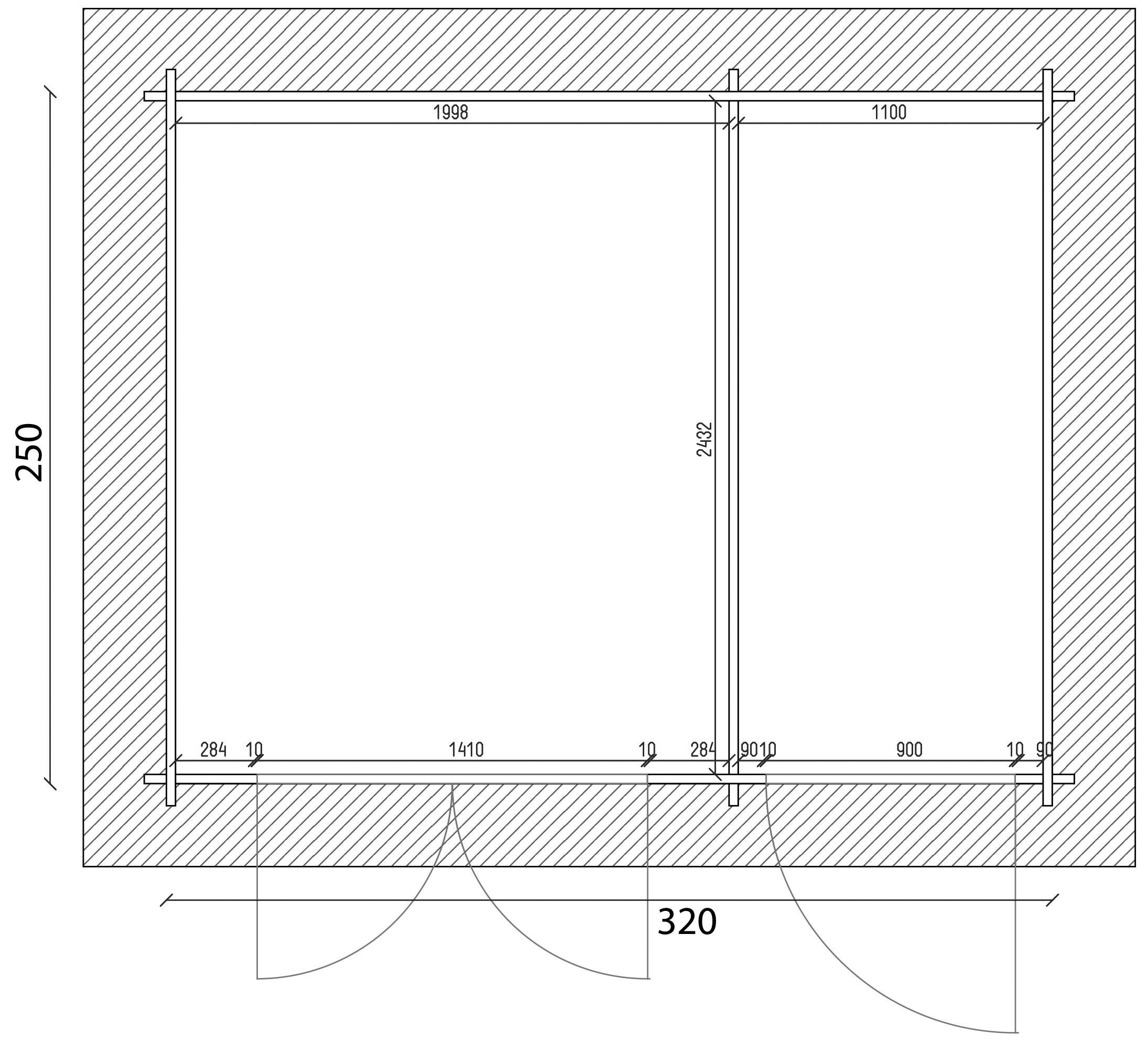 gartenhaus und ger tehaus flachdach pultdach practica 1 kaufen. Black Bedroom Furniture Sets. Home Design Ideas