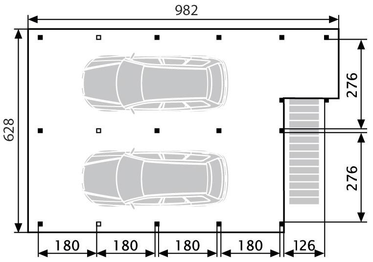 terrassendach holz ueberdachungen terrassendachcarport 301. Black Bedroom Furniture Sets. Home Design Ideas