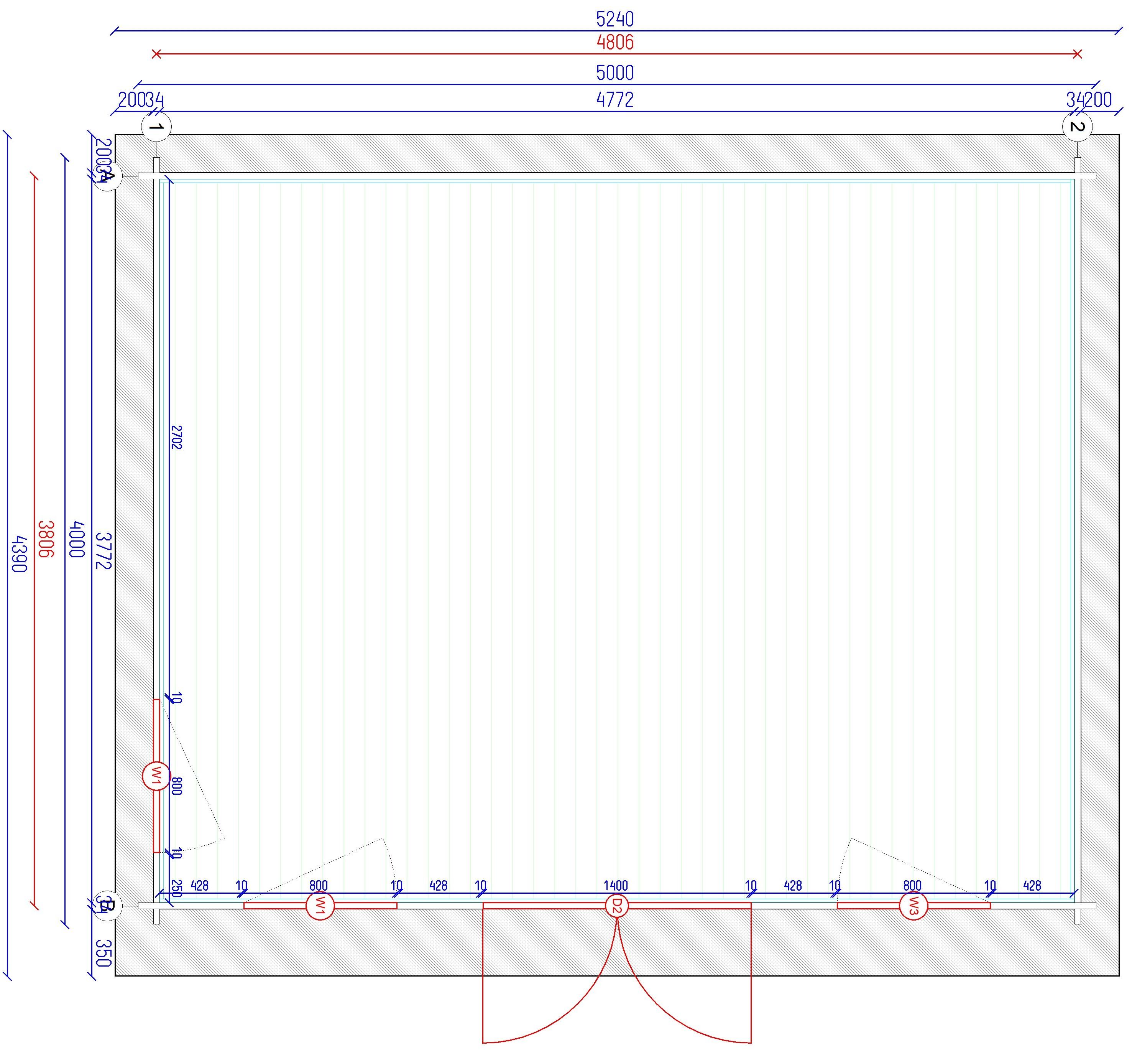 gartenhaus und ger tehaus flachdach pultdach stabilo 20 kaufen. Black Bedroom Furniture Sets. Home Design Ideas