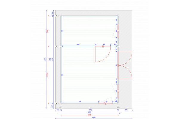 gartenhausundger tehaus flachdachundpultdach bungalow 3 kaufen. Black Bedroom Furniture Sets. Home Design Ideas