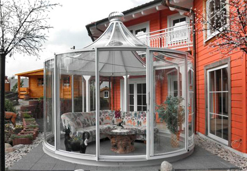 gartenlaube grilllaube und pavillon aus metall rondo kaufen. Black Bedroom Furniture Sets. Home Design Ideas