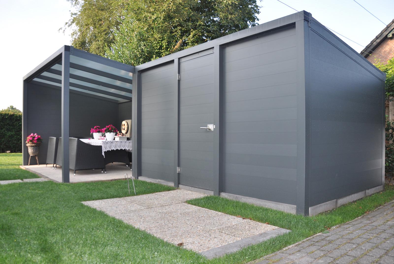 Terrassendach Aluminium Ueberdachung Polycarbonat 3 M Freistehend Kaufen
