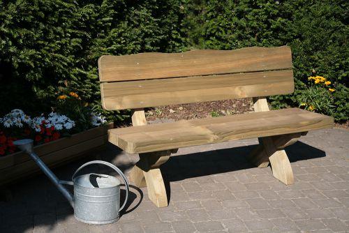 gartenmobel sitzbank mit lehne, gartenmöbel und zubehör rustikal eifel bank kaufen, Design ideen