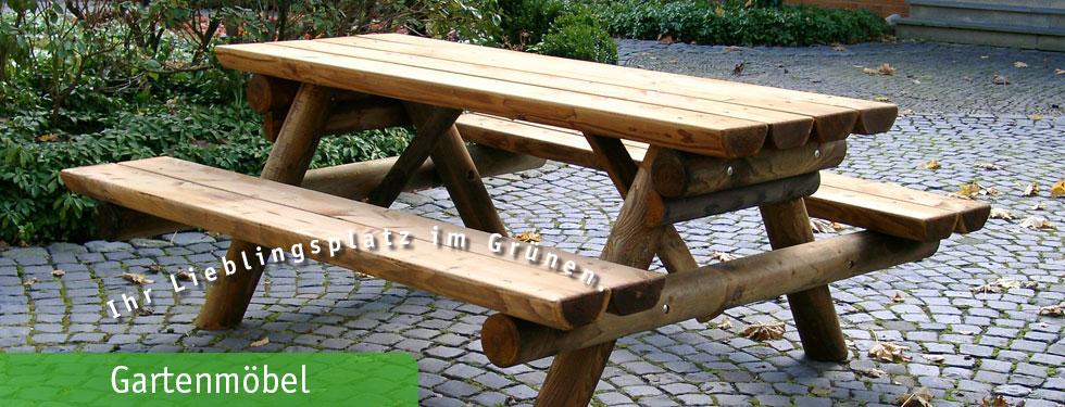 Gartenmobel Alm Picknicktisch Kesseldruckimpragniert