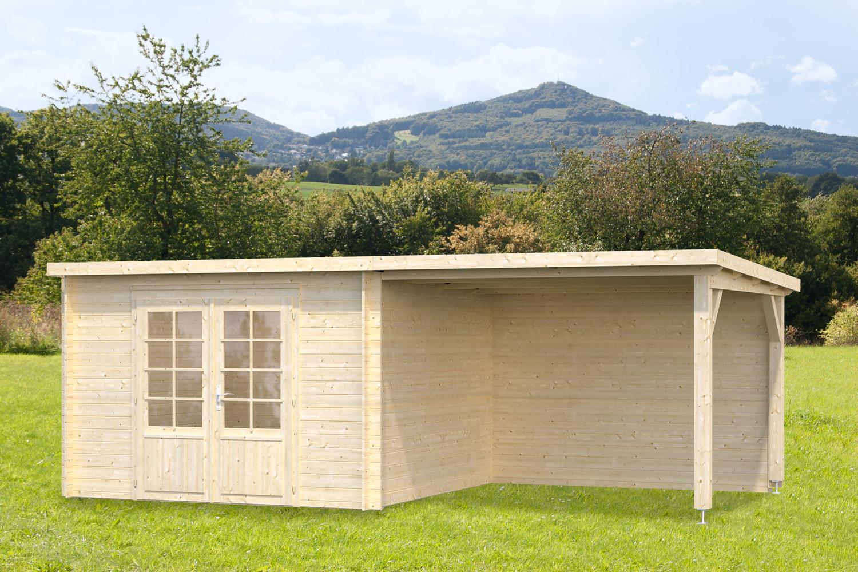 gartenhaus und gerätehaus flachdach pultdach zweckhaus 2-sd 9 kaufen