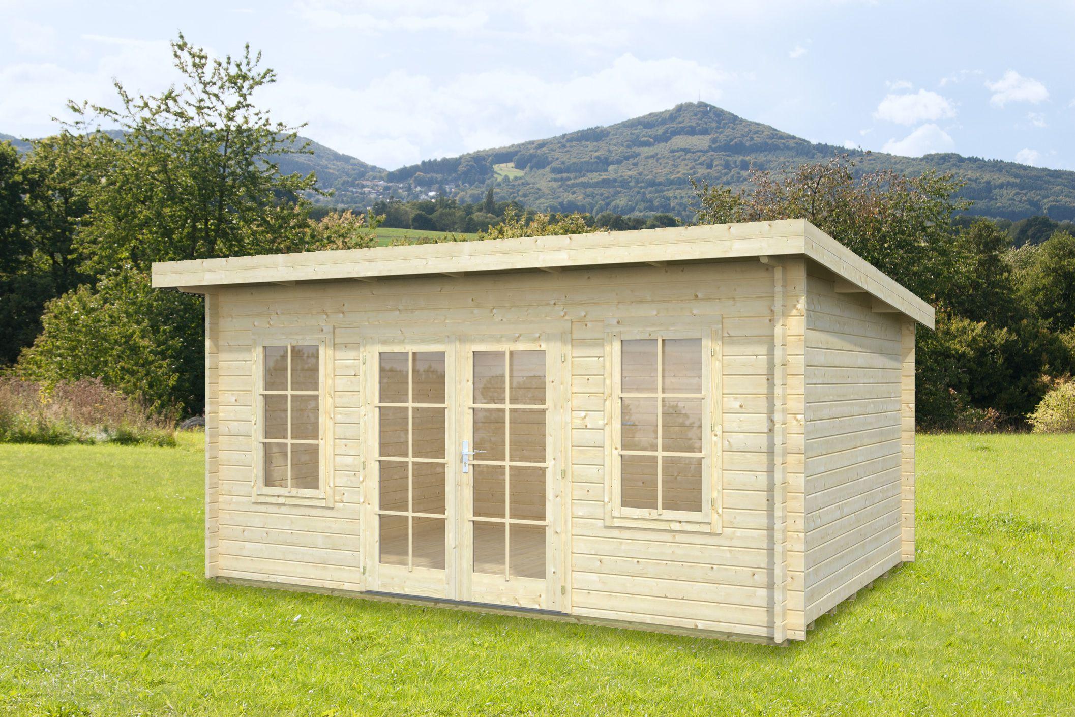 gartenhaus und gerätehaus flachdach pultdach flat style 2 kaufen