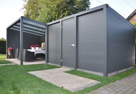 Terrassenuberdachung Alu Bausatz ~ Alu terrassenüberdachung aluminium bausatz
