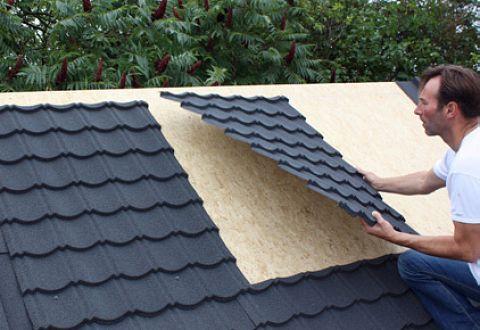 Sehr Zubehör Regenrinnen + Dachschindeln für Gartenhäuser aus Holz GM75