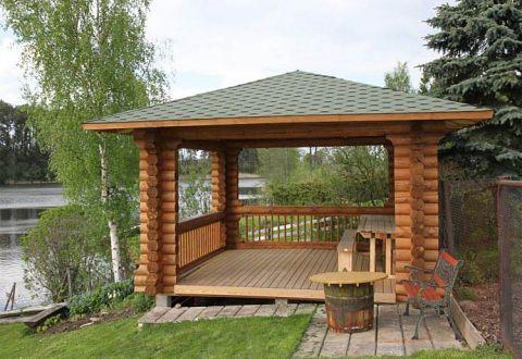 Gartenlauben Pavillons Aus Holz Kaufen Bauen