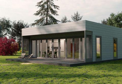 Fertighaus aus Holz bauen, Holzhaus-Bausatz Preise