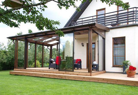 Extrem Wintergarten aus Holz oder Aluminium kaufen PS99