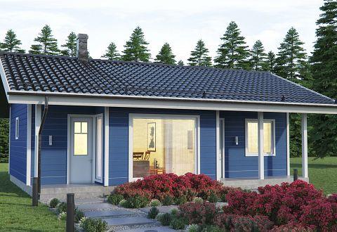 Extrem Fertighaus aus Holz bauen, Holzhaus-Bausatz Preise IH34