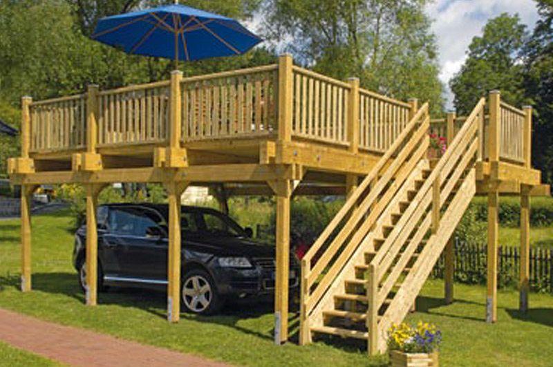 Terrassendach Holz Ueberdachung Terrassendachcarport 301 Kaufen