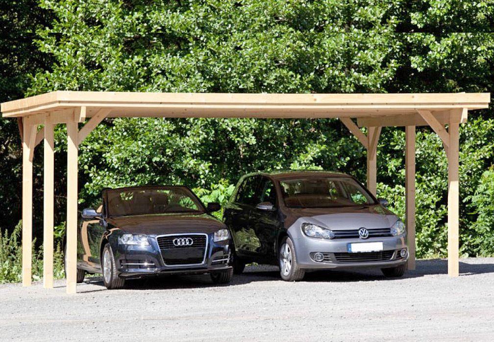 Carport und Garage aus Holz Usedom 2 kaufen