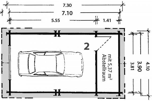 carport und garage aus blockbohlen eibe 2 kaufen. Black Bedroom Furniture Sets. Home Design Ideas